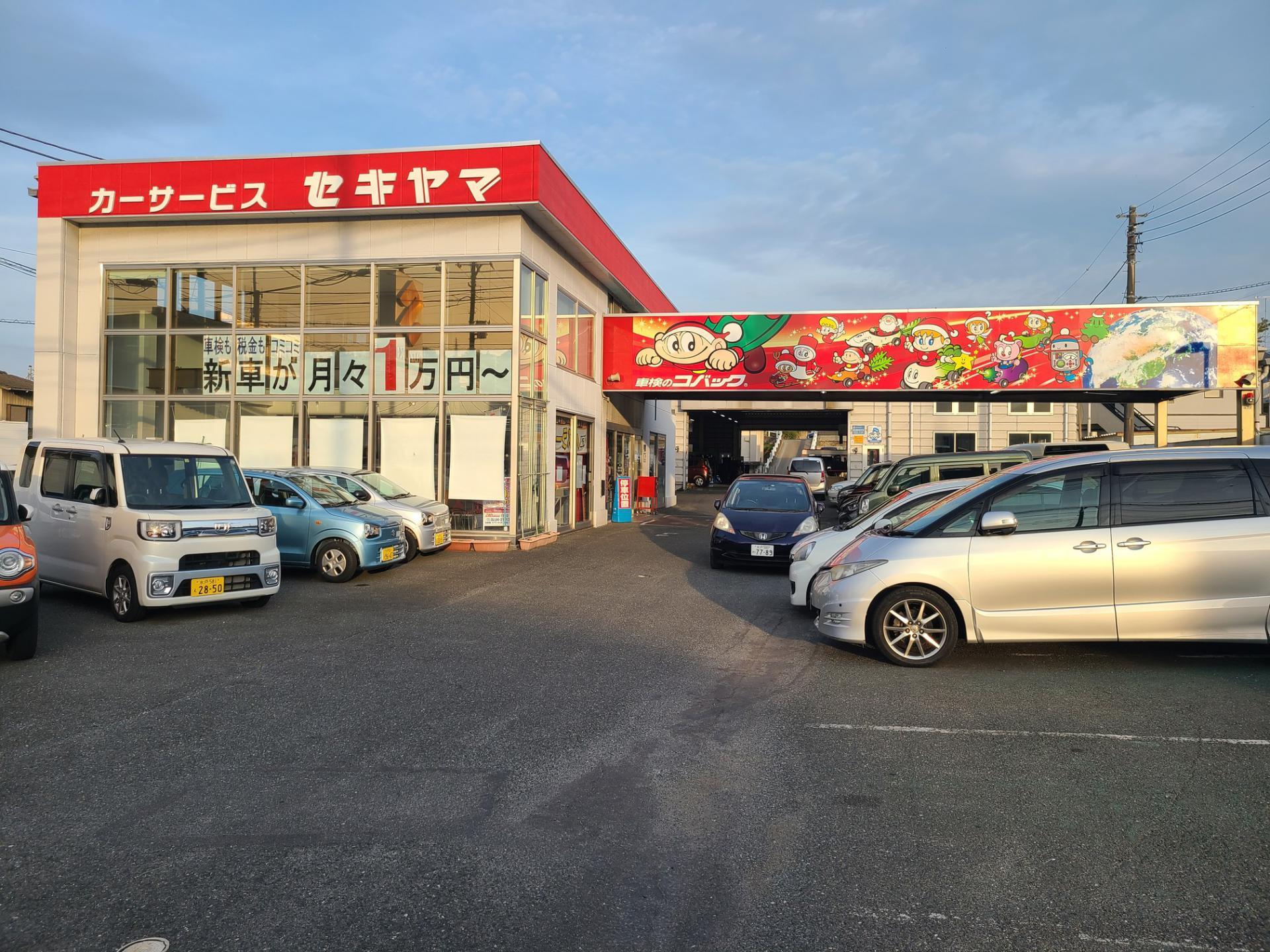 (株)カーサービス セキヤマ 新車市場日立店