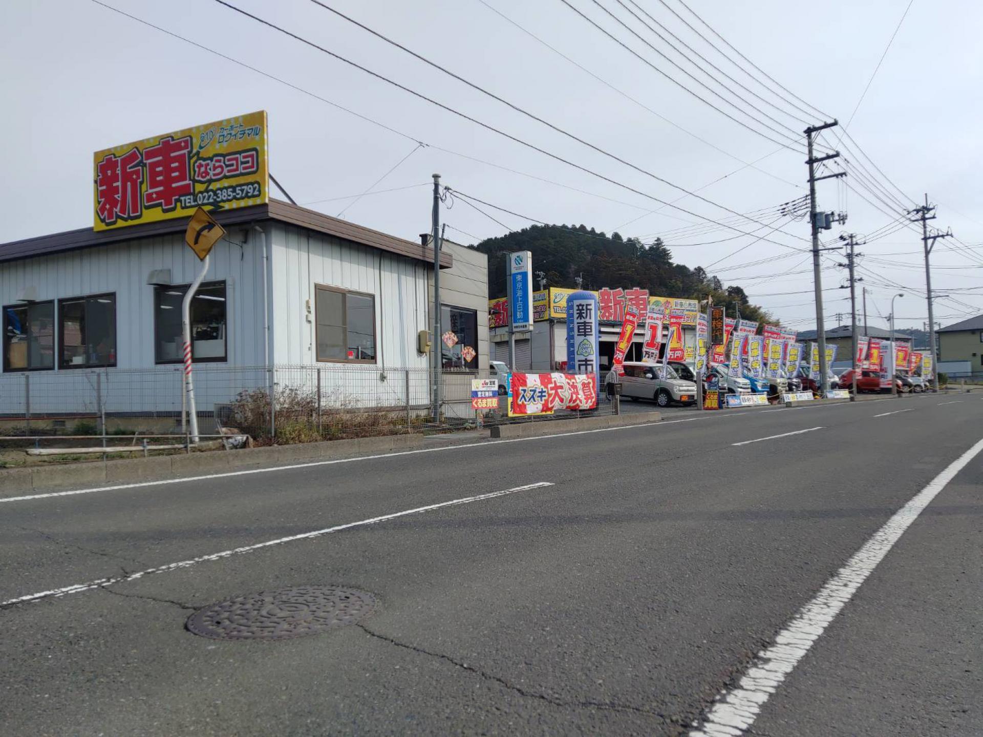 株式会社東日本産業 カーポートロクイチマル 新車市場 宮城利府店