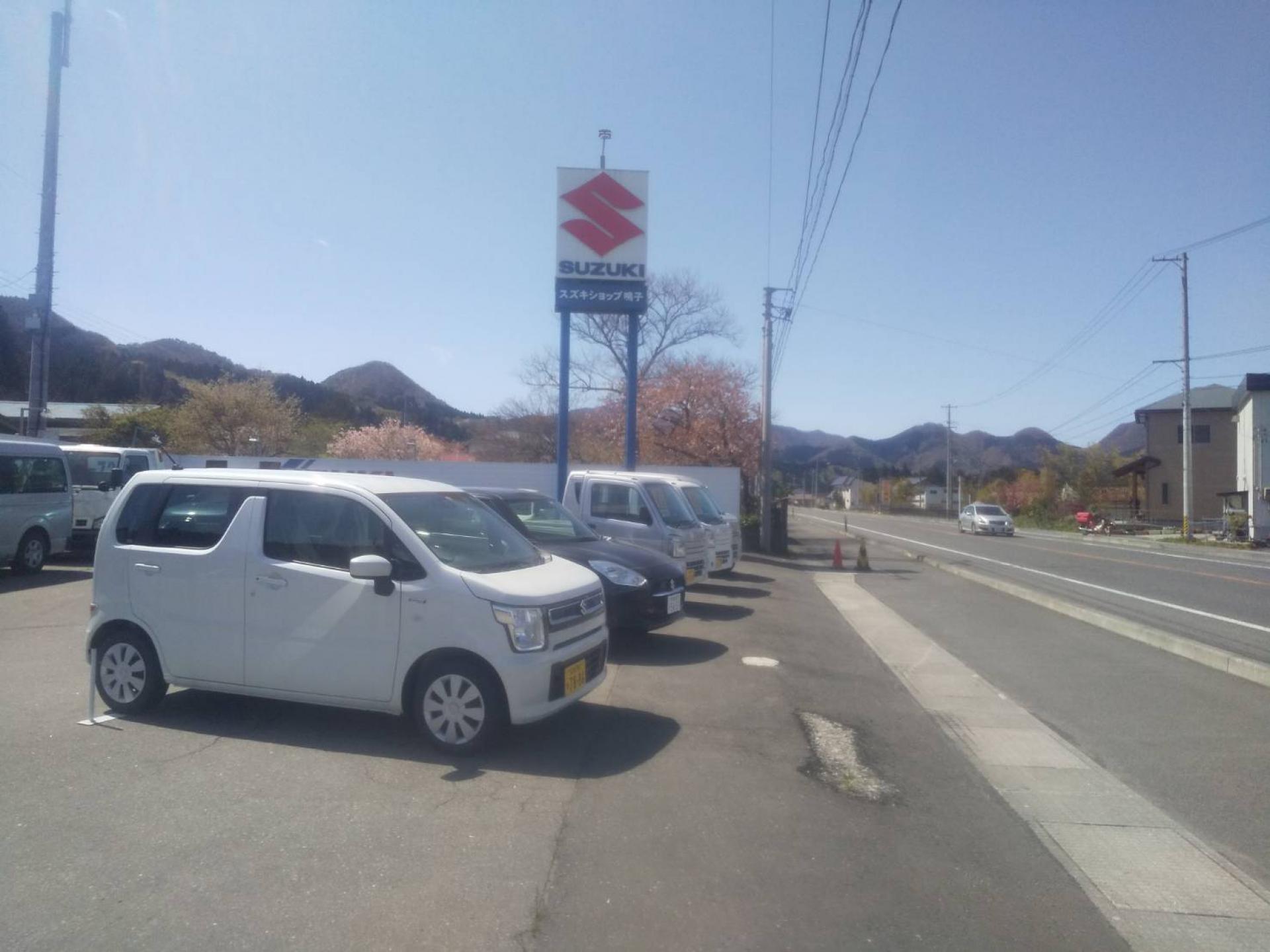株式会社ナルコモガミモータース 新車市場 大崎鳴子店